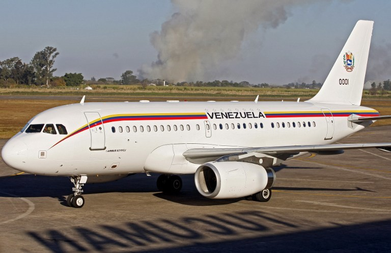 Venezuela's Presidential plane