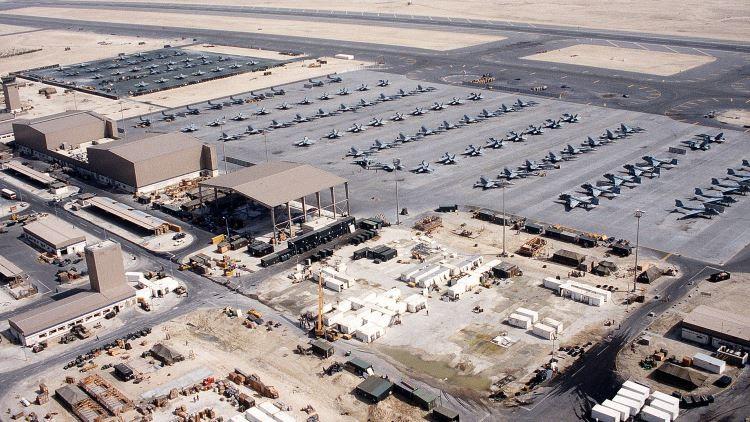 Resultado de imagen de bases de EEUU en Bahrein