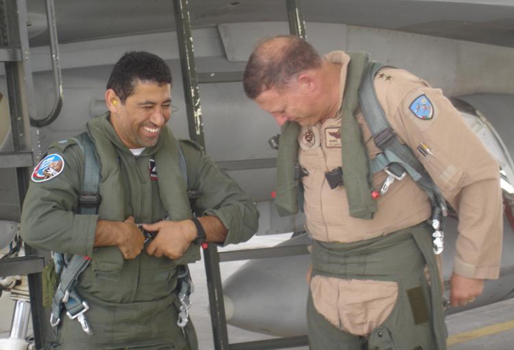 La base aérea de Thumrait en Omán