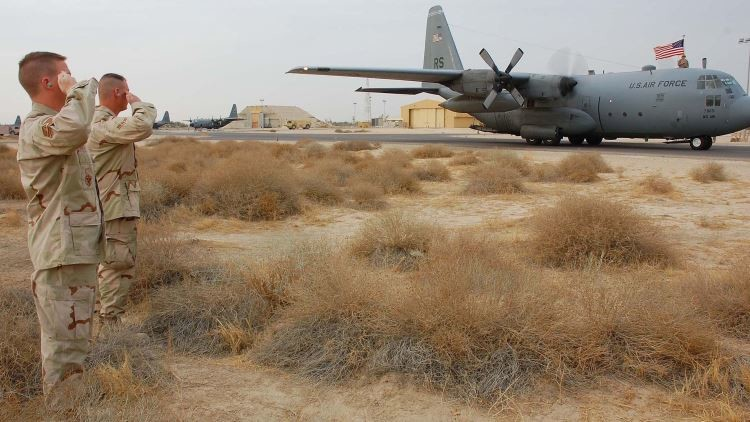 La base aérea de Ali al Salem en Kuwait