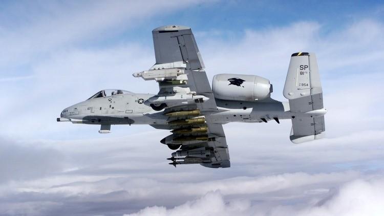 El avión de ataque a tierra monoplaza A-10