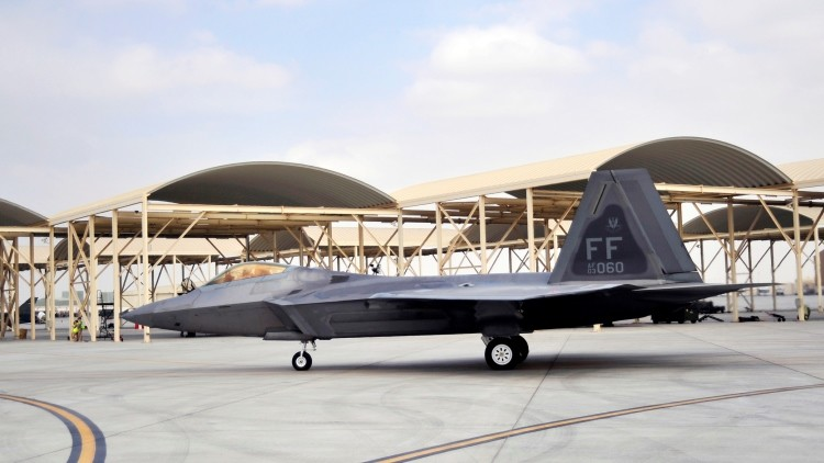 La base aérea de Al Dhafra en EAU