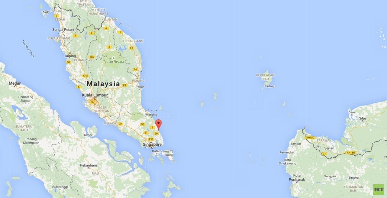 La localidad Tanjung  Sedili en el Sultanato de Johor del sector peninsular de Malasia