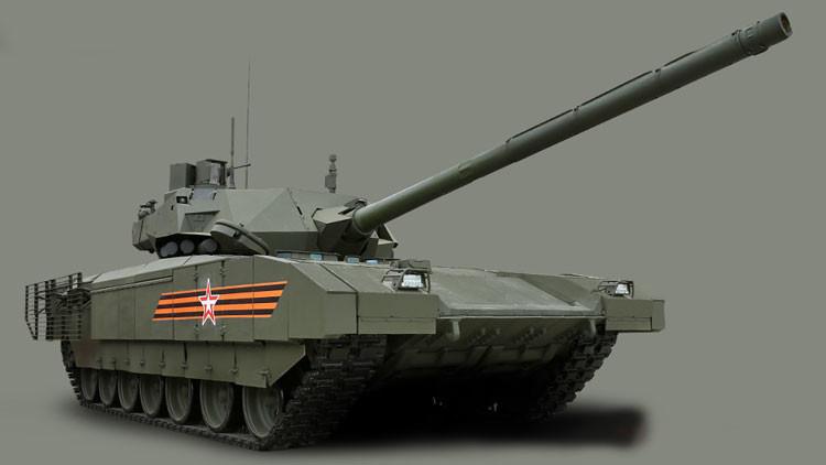 El tanque T-14 diseñado sobre la plataforma Armata