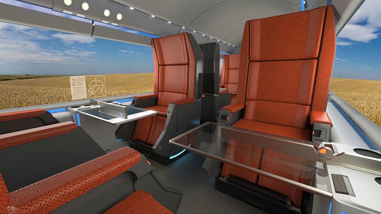 Primer diseño del Hyperloop, el transporte de futuro de Elon Musk