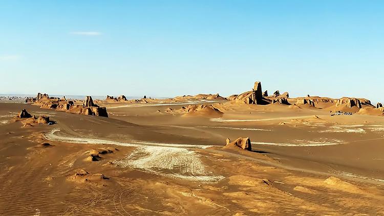 Desierto Dasht-e Lut, Irán.