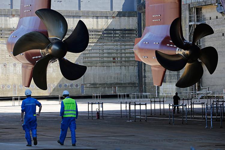 Fotos: El crucero más grande del mundo está casi listo para su primer viaje