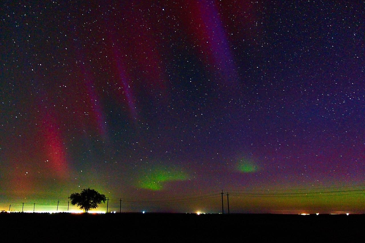 La Tierra registra una poderosa tormenta geomagnética tras una erupción solar