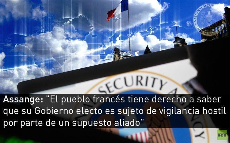 Obama confirma a Hollande que las escuchas del Palacio Elíseo cesaron en el 2013