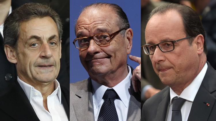 WikiLeaks: EE.UU. espió a los tres últimos presidentes de Francia