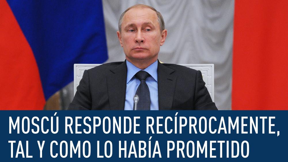 Putin prolonga un año el embargo a la importación de productos europeos en respuesta a las sanciones