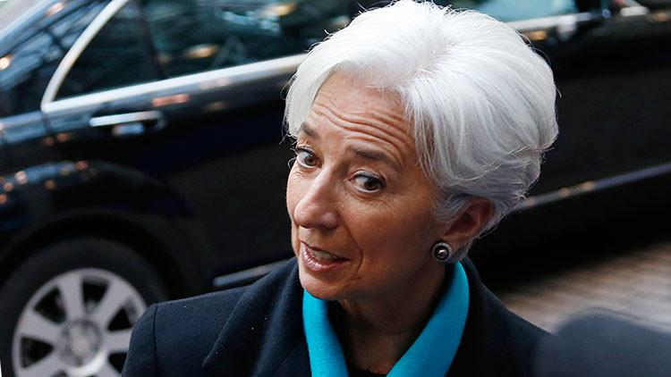 Christine Lagarde, 26 de noviembre de 2012