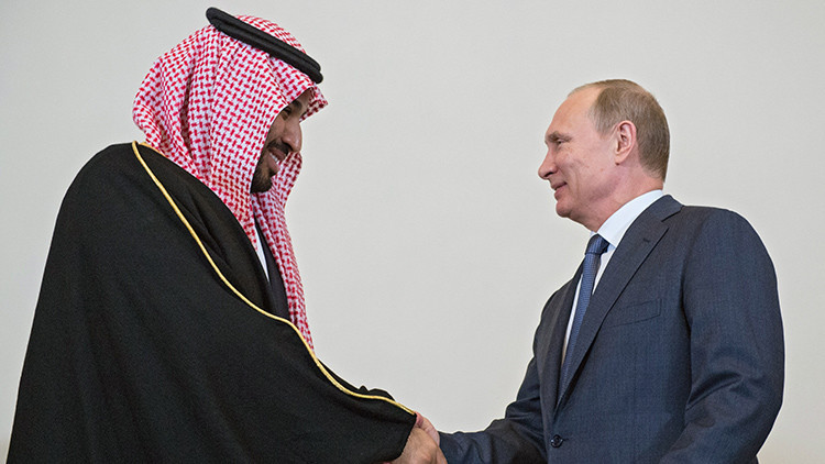 """""""La alianza entre Rusia y Arabia Saudita cambiará el equilibrio de fuerzas en la batalla con EE.UU."""""""