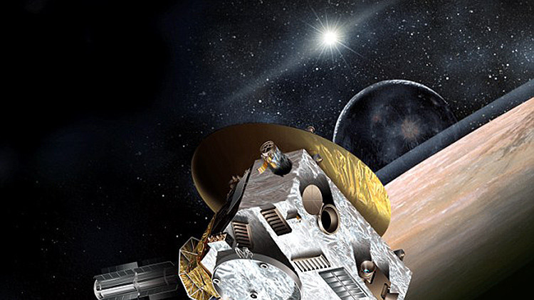 Foto: Descubren en Plutón una enorme mancha brillante de origen desconocido