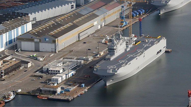 Rusia llega a un acuerdo sobre la multa que Francia pagará por no suministrar los Mistral
