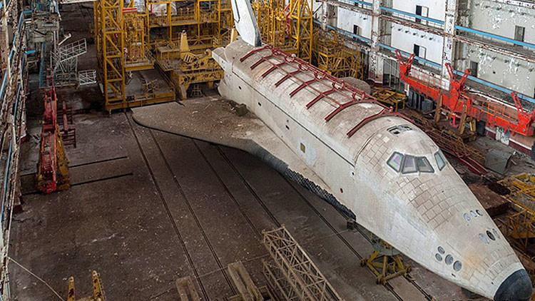 Fotos: Transbordadores espaciales secretos de Rusia, ocultos durante 22 años