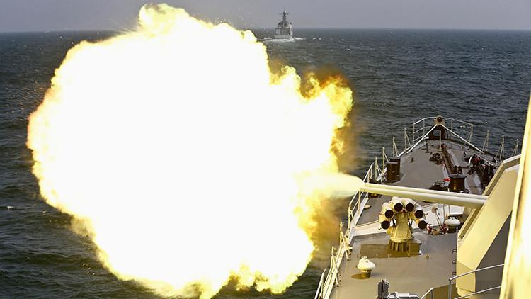 China realiza un simulacro de combate por aire, mar y tierra en el mar Amarillo
