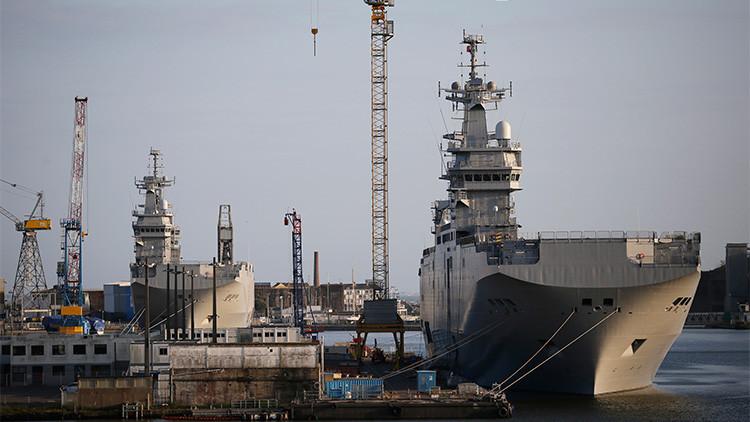 """""""Lo siento, Francia, pero Rusia construirá buques de asalto Mistral"""""""