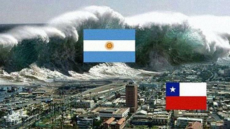 Argentinos y chilenos batallan en la Red con memes alusivos a la final de la Copa América