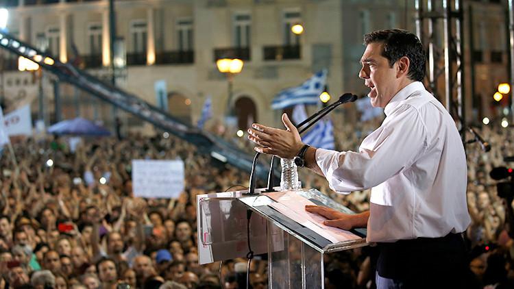 """Tsipras: """"Construyamos una Europa democrática sin miedo y sin chantaje"""""""