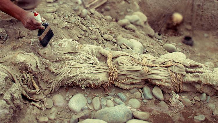 Hallan una 'momia' de la civilización medieval perdida cerca del Ártico ruso