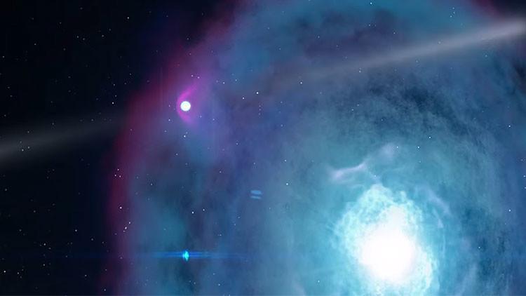 """Los astrónomos, a la espera de los """"fuegos artificiales"""" con más chispa de la galaxia"""