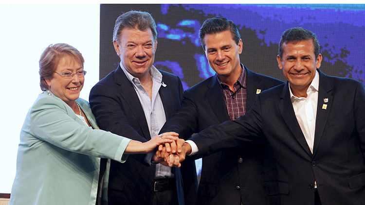 La Alianza del Pacífico se prepara para el libre comercio entre sus países miembros