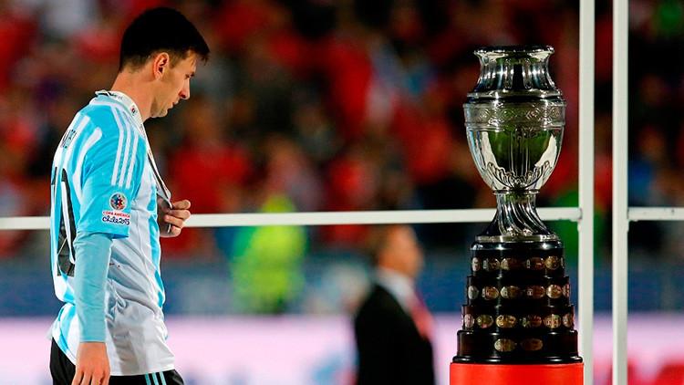 Hinchas chilenos agreden a los familiares de Leo Messi
