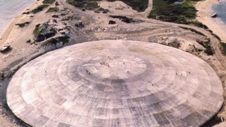 ¿Desastre inminente?: Gotea una cúpula que esconde toneladas de desechos radioactivos