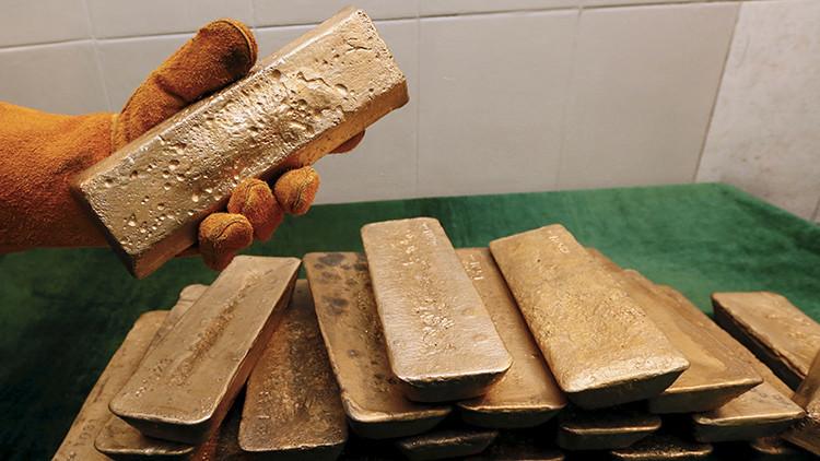 Yacimiento de oro ruso Olimpiada