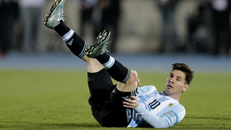 """La prensa argentina critica a Messi: """"Está mal puesta la cinta de capitán"""""""