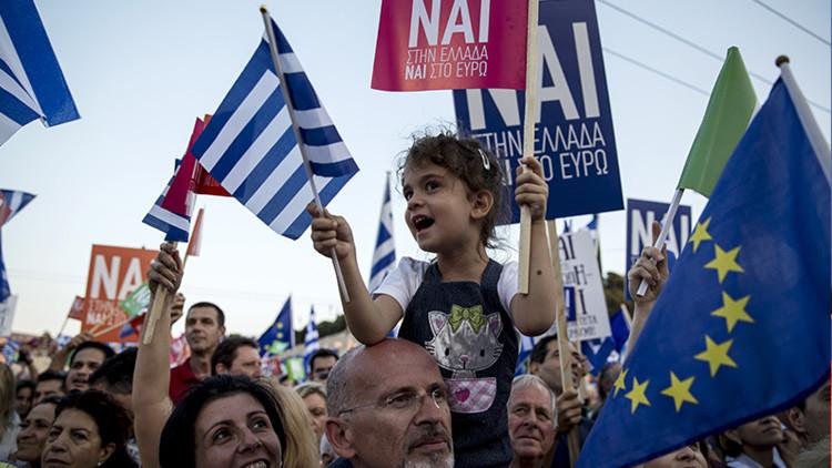 """El voto griego avergüenza a Europa: """"Los fundadores de la UE serían horrorizados"""""""