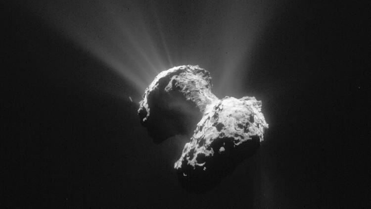 Científicos: El cometa Churiúmov-Guerasimenko podría albergar vida extraterrestre