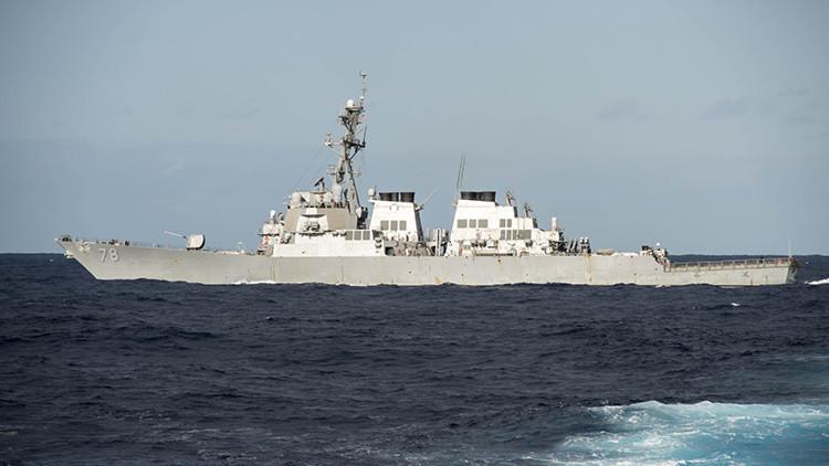 El destructor de EE.UU. ha ingresado al mar Negro