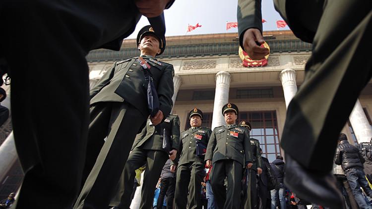 Generales chinos advierten de una guerra que está a las puertas del país