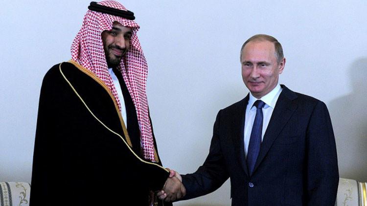 Inversión récord: Riad destina 10.000 millones de dólares a la economía rusa