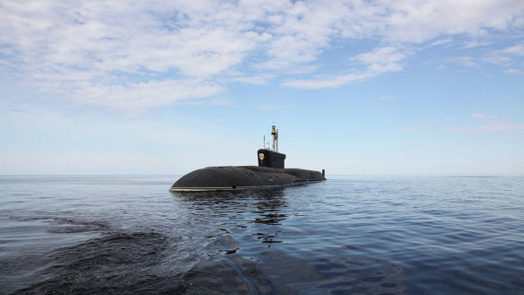 Rusia diseña un submarino 'mataportaaviones' de quinta generación