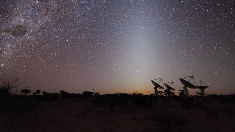 Un poderoso radiotelescopio capta una señal emitida hace 5.000 millones de años