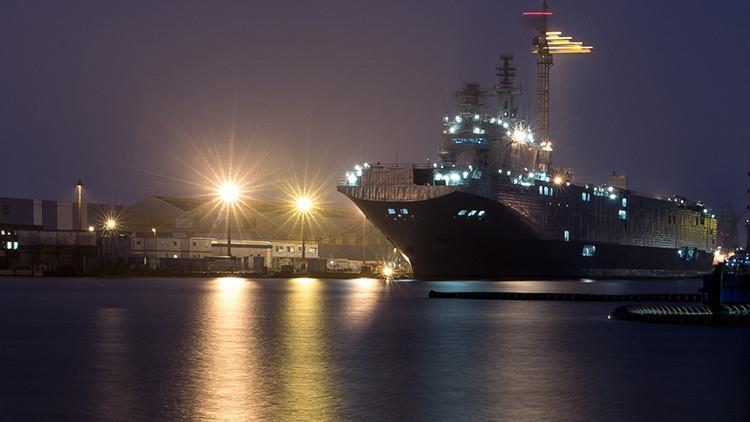 Paris se desespera: No sabe a dónde meter sus buques Mistral
