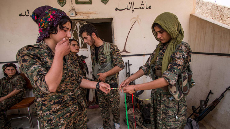 Mapa: Las pérdidas territoriales del Estado Islámico y el comienzo de un Kurdistán unido