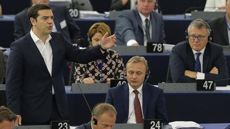 """Tsipras: """"Convirtieron a Grecia en un experimento de la austeridad que ha fracasado"""""""