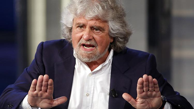 """Beppe Grillo: """"Italia saldrá del euro después de Grecia"""""""