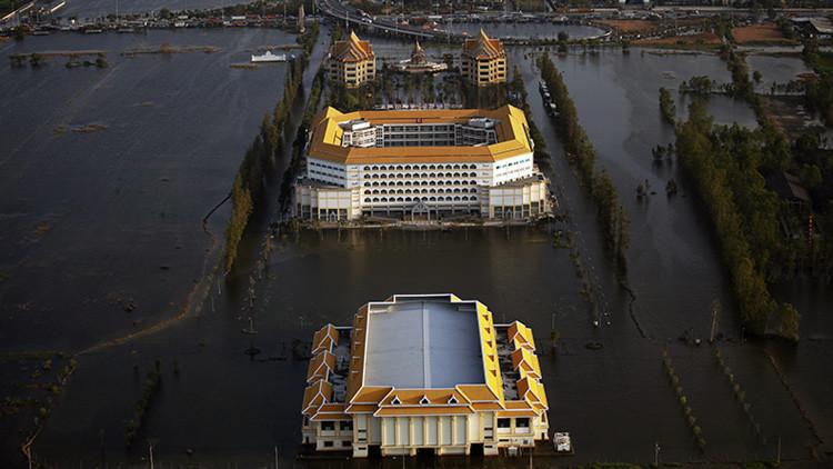 La Atlántida moderna se llama Bangkok: la capital de Tailandia se hunde debido a la erosión