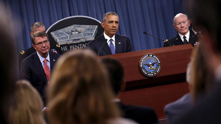 ¿Lapsus freudiano? Obama promete acelerar el entrenamiento del Estado Islámico