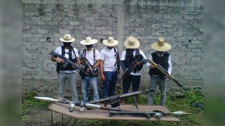 Surge nuevo grupo de autodefensas en el estado mexicano de Michoacán