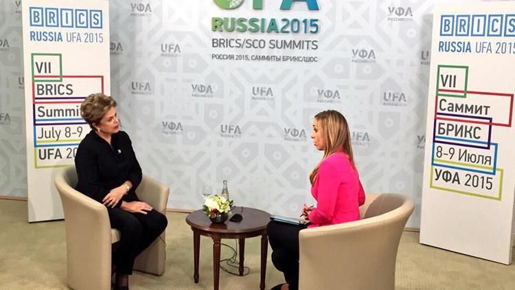 Pronto en RT: entrevista exclusiva de la presidenta de Brasil, Dilma Rousseff
