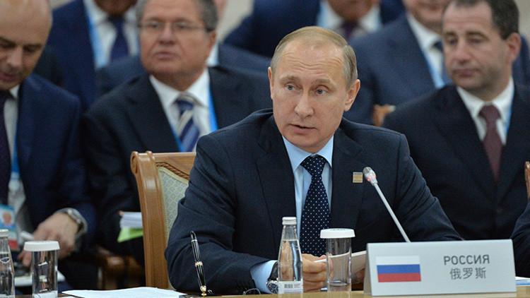 """Putin: """"Con la India y Pakistán la OCS abre una nueva etapa en su historia"""""""