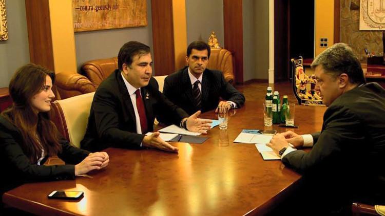 Saakashvili elige a activista de Maidán de 25 años para gobernar en Odesa