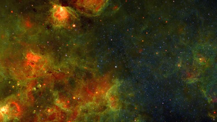 Un video fascinante: ¿A qué parece el vuelo interestelar a través de la Vía Láctea?