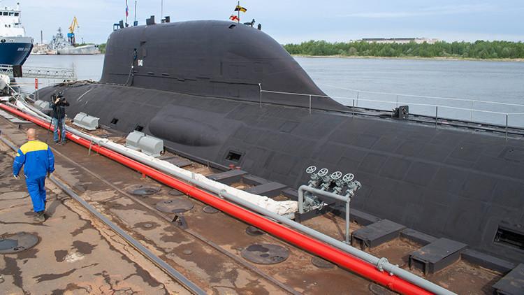 India negocia con Rusia el arriendo de su más moderno submarino de ataque de propulsión nuclear